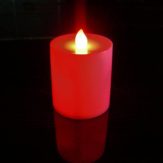 Car Battery Red Candle