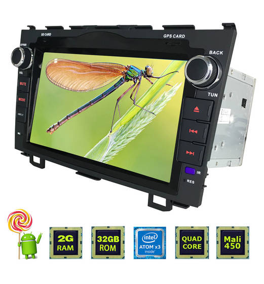 mp3 player: Sell 8 touch screen android car multimedia system with WIFI for honda cr-v