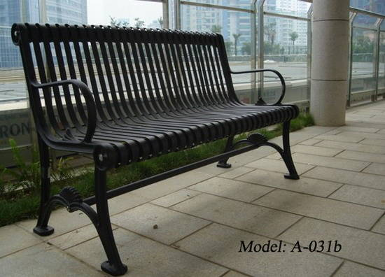 Sell Cast iron garden bench Guangzhou City Kota Outdoor Leisure