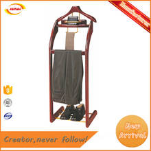 Wholesale Hangers & Racks: Factory Direct Supply Hotel Room Luxurious Wooden Stand Coat Rack Kunda