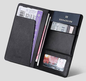 Wholesale passport wallet: Functional Passport/ID/Card Holder for Men