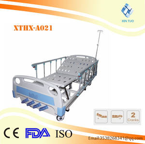 Wholesale bed: ABS Four-crank Leg-separated Medical Nursing Bed