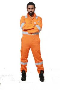 Wholesale reflective tape: Flame Retardant Coverall with Reflective Tape