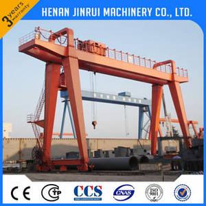 Wholesale crane rail: 20Ton Double Girder Rail Traveling Gantry Crane