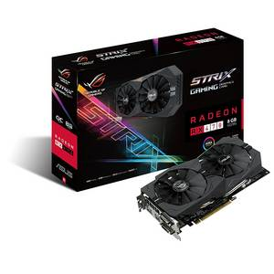 Wholesale Graphics Cards: ASUS ROG STRIX Radeon Rx 470 8GB OC Edition AMD Graphics Card with DP 1.4 HDMI 2.0 STRIX-RX470-O8G-G
