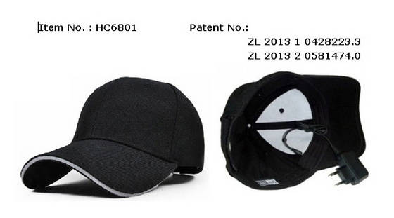 wireless transmission: Sell music cap Bone-conducted blutooth speaker hat