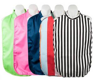 Wholesale Baby Bibs: Collar Style Polyester Lining Adult Bib