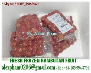 Wholesale sell: Sell Fresh/Frozen Rambutan, Lychee Litchi, Longan, Bananas, Dragon Fruit, Pomelo, Guava, Avocado
