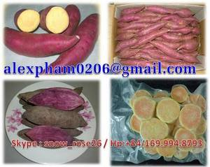 Wholesale Fresh Sweet Potatoes: Sell Fresh/Frozen Sweet Potato, Purple Yam, Taro, Okra, Bitter Gourd, Asparagus, Chayote