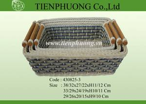 Wholesale Bamboo, Rattan & Wicker Furniture: Rattan Baskets