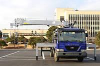 Auger Crane Truck