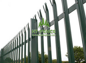 Wholesale i beam standard size in mm.: D Pale Palisade Fence