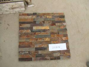 Wholesale mushroom slate: Rustic Slate Cultured Stone Wall Panel Veneer