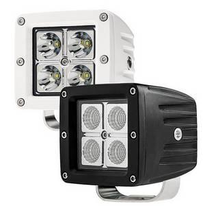 Wholesale mine explosion proof lamp: 3.5inch Pod 2x2 Square 12v 24v LED Seachlight Off Road Work Lights