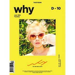 Wholesale Parenting Books, Music & Videos: GIRLS GENERATION TAEYEON - [WHY] 2nd Mini Album CD+Photo Book+Card K-POP Sealed