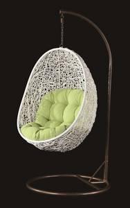 Wholesale Garden & Patio Sets: Powder Coat Aluminum Frame Rattan Weav Hanging Egg Chair