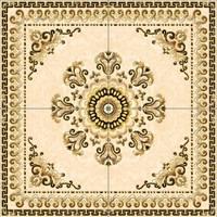 Decorative Floor Tile Designs Large Square Compass Floor Medallion
