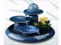 porcelain water fountain home decoration tableware tabletop