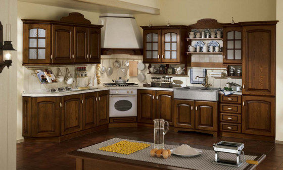 Modern Modular Solid Wood Kitchen Cabinet Id 6455522