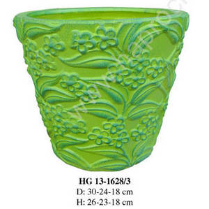 Wholesale ceramic: Vietnam Round Ceramic Flower Pots