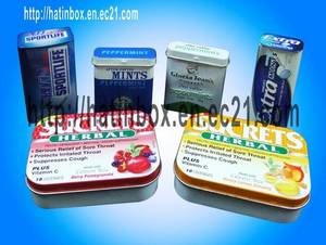 Wholesale candy tin: Mini Candy Tin Box