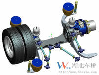 Sell Electricially driven low-floor city bus axles