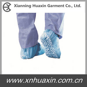 Wholesale used sewing machine: HXS-02:Nonwoven PP Shoecover with Embossed Sole