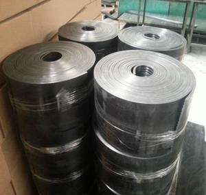 Wholesale crane rail: Resilient crane rail pad Gantrail type Rubber Conveying Belt for Stone Crusher in Mining Industry