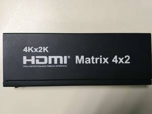 Wholesale 3 way conference phone: HDMI Matrix 4x2 with Audio Output 4K
