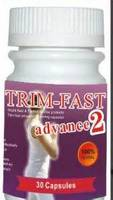 Trim Fast Advanced 2 Diet Pills SoftGel Capsule Pastillas Para Adelgazar
