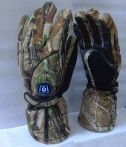 Wholesale Leather Gloves & Mittens: Battery Heated Hunt Gloves