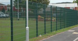 Wholesale galvanized iron sheet density: High Security Anti Climb 358 Fence