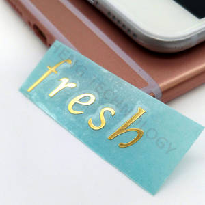Wholesale cheap phone: Self Adhesive Chrome Nickel Cheap Metal 3D Sticker for Cell Phone
