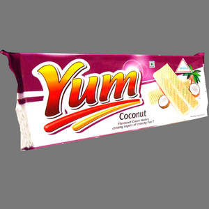 Wholesale coconut: Coconut Yum Cream Wafers / Wafer Biscuits