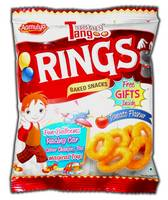 Cheese Snacks/ Rings Snacks / Non Spicy Snacks