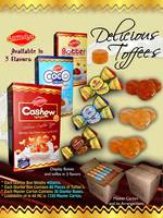 Chocolates / Sweet Butter Toffees / Cashew Toffees / Cream Toffees / Confectionery