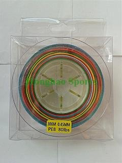 Braided fishing line 300m 80lb from honghao sports co for 80 lb braided fishing line