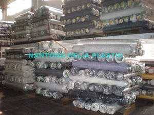 Wholesale polyester sofa fabric: PU Synthetic Leather (HL006-7)