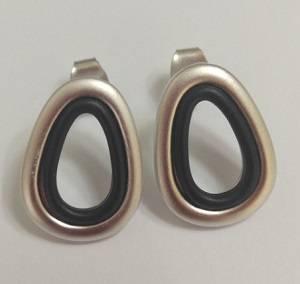 Wholesale Earrings: Two Tone Earring