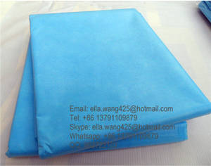 Wholesale surgical bed cover: PP Nonwoven Bed Sheet for Beauty Spa Disposable Surgical Bed Cover Medical Stretcher Sheets