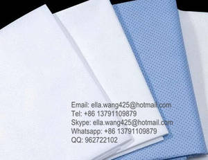 Wholesale nonwoven bed sheet: 100% Virgin PP Nonwoven Fabric Disposable Bed Sheets Medical Bed Cover for Spa & Hospital