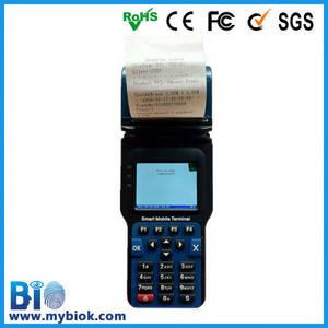 Wholesale handheld mobile thermal printer: GPRS/GPS Biometric Fingerprint Rfid Card Reader Mobile Handheld Reader HF-FH08