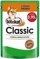 KITEKAT 85g Classic Poultry Cat Food