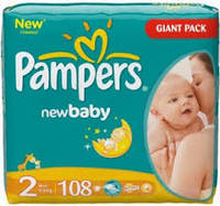 PAMPERS 6x64PCS Baby Fresh Wipes
