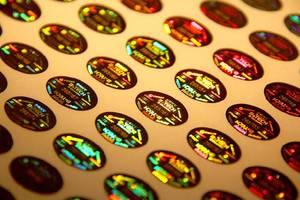 Wholesale sticker: Laser Numbering Sticker