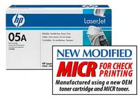 Sell Premium CE505A MICR Toner for HP LaserJet P2035, P2055