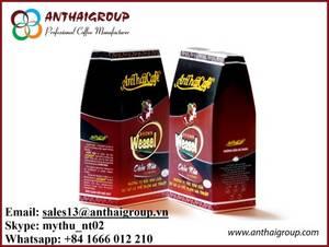 Wholesale pe bag: Ground Coffee - Brown Weasel Coffee