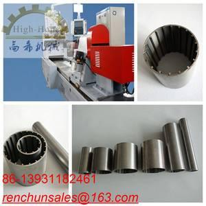 Wholesale welding rod making machine: High Precision Cylinder Screen Welding Machine