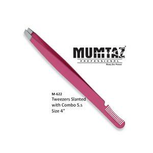 Wholesale angled tweezers: Manicure Eyelash Tweezers Slanted