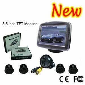 Wholesale car monitor: 3.5 Inch TFT Monitor Camera Car Parking Sensor System